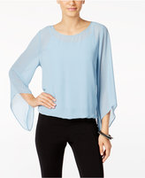 Alfani Angel-Sleeve Blouson Top, Only at Macy's