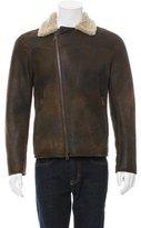 John Varvatos Shearling Flight Jacket