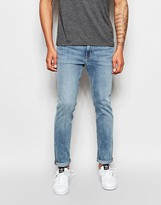 Weekday Jeans Friday Skinny Fit Instant Blue Light Wash