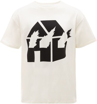 J.W.Anderson Burning House T-shirt