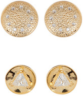 Melinda Maria Joan Pod Stud & Mini Nelly Stud Earrings Set