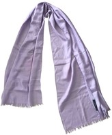 Gucci Purple Wool Scarves