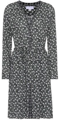 Velvet Mariyah floral printed crepe dress