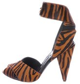 Tom Ford Ponyhair Crossover Heels w/ Tags
