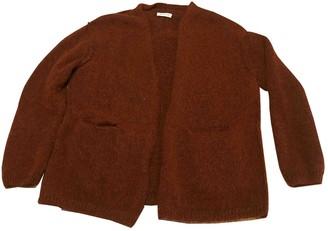 Masscob Burgundy Wool Jacket for Women