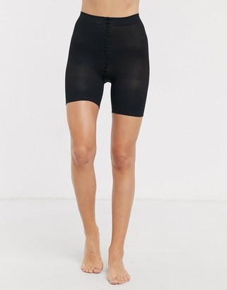 Pretty Polly sheer anti chafing cooling short in black