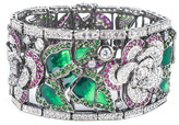 Jarin K Jewelry - Floral Enamel Bracelet