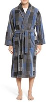 Majestic International Men's Terry Velour Robe