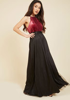 Tulle True Maxi Skirt in Black in M