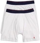 Polo Ralph Lauren Ralph Lauren Supreme Comfort Long Leg Boxer Briefs, Pack of 2