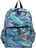 Molo Surfboards Print Nylon Canvas Backpack