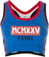 Fendi printed tank top