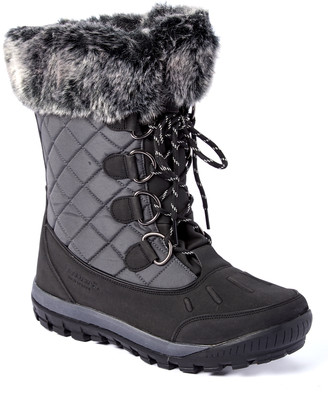 BearPaw Women's Cold Weather Boots CHARCOAL - Charcoal Cassie Snow Boot - Women
