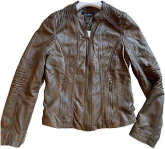 Oakwood Green Leather Jackets