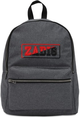 Zadig & Voltaire Logo Printed Nylon Backpack