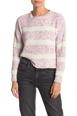 Absolutely Cotton Marl Stripe Sweater