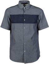 Michael Kors Contrast Stripe Denim Shirt