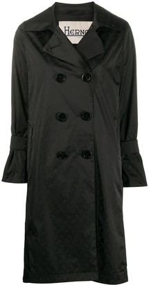 Herno Double-Breasted Trench Coat