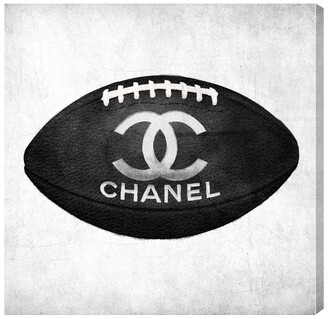 Oliver Gal Fashion Football Canvas Art By The Artist Co.