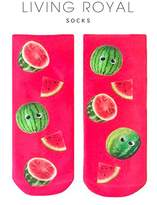 LIVING ROYAL Googly Watermelons Ankle Socks