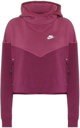 Nike Cotton-blend hoodie