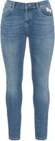 Jette Joop Plus Size Patch slim fit cropped jeans