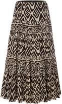 Lauren Ralph Lauren Moriah tribal ruffle skirt