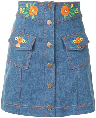 Alice McCall Winona denim skirt