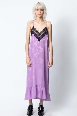 Zadig & Voltaire Revel Jac Paisley Dress