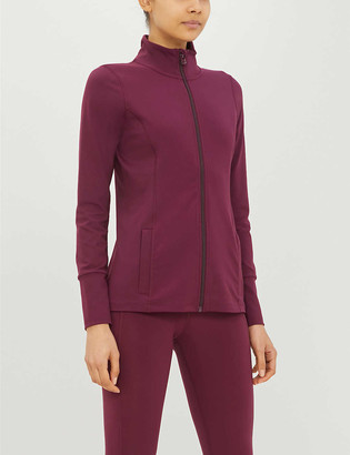 Lorna Jane Excel stretch-jersey jacket