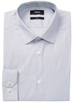 Theory Dover Stripe Slim Fit Dress Shirt