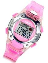 Lancardo Unisex Children Pink Multi Function Luminous Analog Digital Electronic LED Watch with Gift Bag