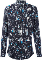 Dolce & Gabbana jazz print shirt - men - Cotton - 40