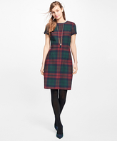 Brooks Brothers Tartan Double-Faced Dress