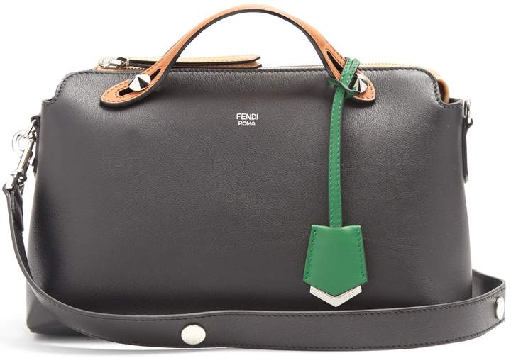 Fendi By The Way contrast-panel leather bag