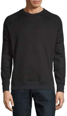 Givenchy Long-Sleeve Side Zip Sweatshirt