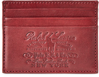 Ralph Lauren Heritage Leather Card Case