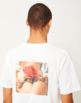 HUF X Penthouse Rose T-Shirt White
