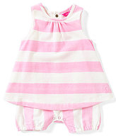 Joules Baby Girls Newborn-12 Months Summer Striped Shortall