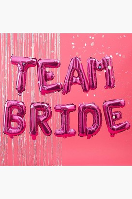 boohoo Team Bride Balloon Bunting