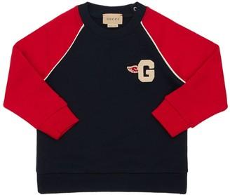 Gucci Embroidered Cotton Sweatshirt