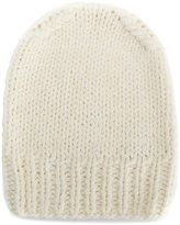 MM6 MAISON MARGIELA ribbed beanie - women - Acrylic/Wool - S