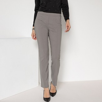 """Anne Weyburn Pull-On Stretch Trousers, Length 30.5"""""""