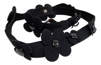 Louis Vuitton Blue Suede Belts