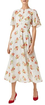 Hobbs London Savannah Floral Midi Dress
