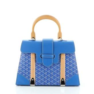 Goyard Blue Cloth Handbags