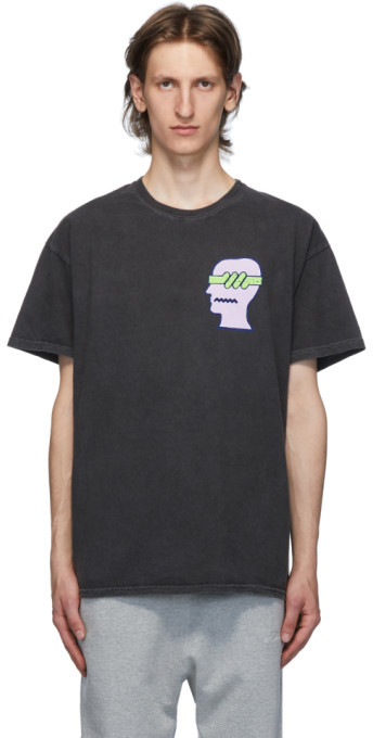 Brain Dead Black Spermicide T-Shirt