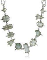 Erickson Beamon Rocks Silver Twelve Stone Necklace
