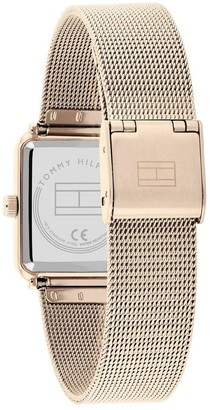 Tommy Hilfiger Tea Rose Tone Square Dial Watch