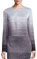 St. John Metallic Degrade Knit Jacket